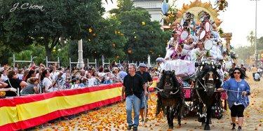 Битва цветами в Валенсии