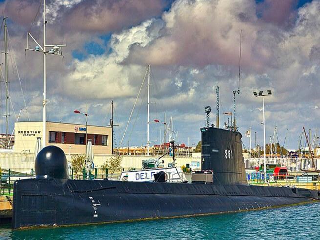 Музей подводной лодки S 61 Дельфин