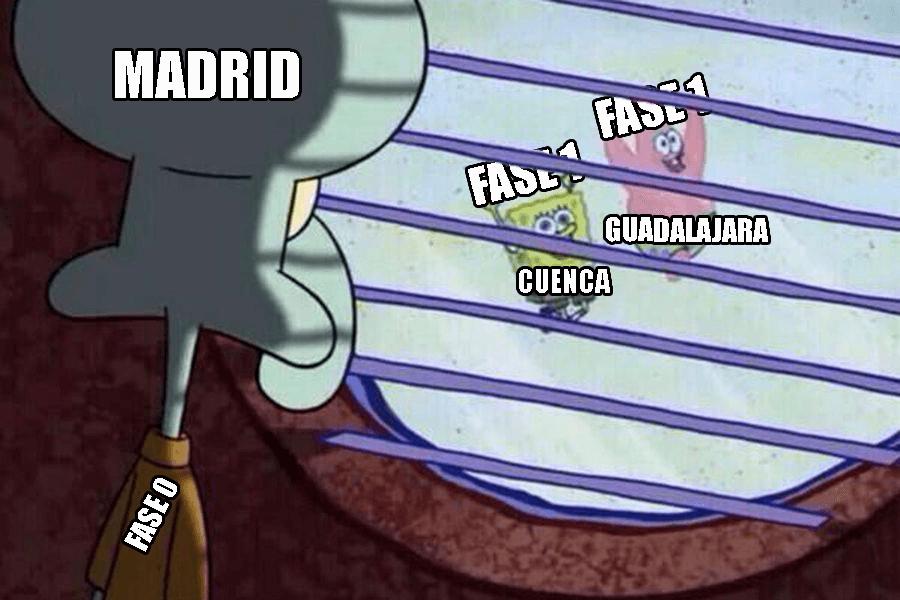 Испания фаза 1